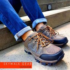 Skywalkgear Olex Sepatu Sneakers Sport - 958 Coffee