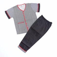 Sleepwear Piyama Baju Tidur Anak SK-0202 - BLACK