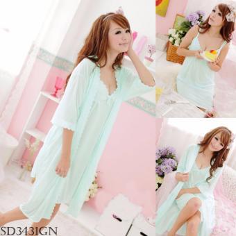 jual lingerie bagus murah dan berkualitas Source Sleepwear SD3431GN .
