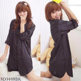 Sleepwear SD3448BK
