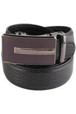 Snakeskin Pattern First Layer Cowhide Leather Belt