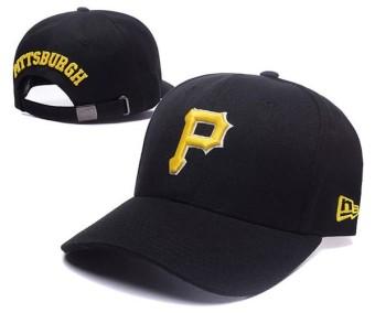 Bertali Belakang Topi Bisbol Topi MLB Resmi Pria Wanita Pittsburgh Pirates  Olahraga Topi Uniseks Olahraga Tulang 06916598db