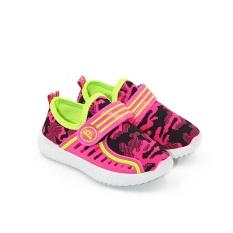 Sport Sepatu Sneakers Anak 1706-258 - Pink Size 26-31