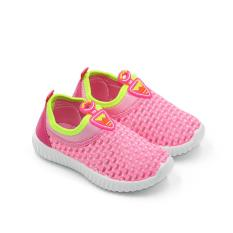 Sport Sepatu Sneakers Anak 1706-368 - Pink Size 26-31