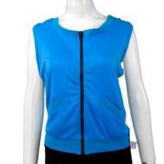 Sporty Tanktop Baju Atasan Senam wanita / Tanktop Baju Atasan Olahraga Wanita SPF171-Blu,