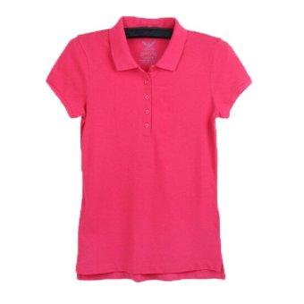 Stock Online Kaos Wanita Polos Merah. Stock Online Kaos Wanita Polos Merah .