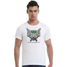 Suicide Squad Rik Flag Colonel Cotton Soft Men Short T-Shirt (White)