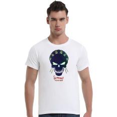 Suicide Squad Slipkno Cotton Soft Men Short T-Shirt (White) - Intl