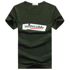 Summer Men's Classic Logo Impossible Short Sleeve T Shirt