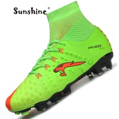Sunshine 2017 Original New York Men's Football Boots / Soccer Shoes Sneakers High Help - Green - intl