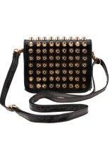 Sunweb New Fashion Women Lady Girl Simple Rivet Retro Shoulder Bag Handbag Packets Bag