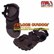 Suzuran Sandal Gunung Cross Thumb (MR1) Brown