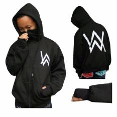 Sweater Anak 7 s.d 10 tahun - Alan Walker Ninja - Fleece Tebal - Hitam