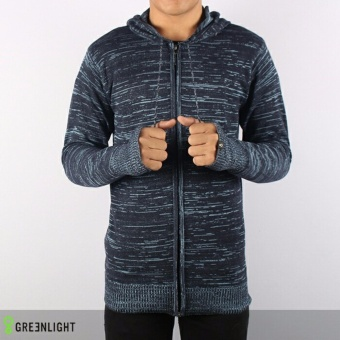 Sweater Rajut GRLT Ariel Twotone Black Grey