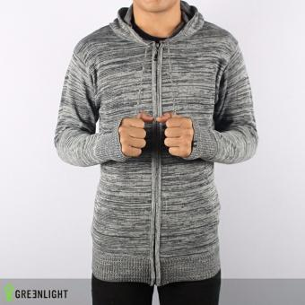 Sweater Rajut GRLT Ariel Twotone Grey bLACK