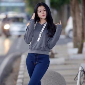 3kfashion Basic Womens Bomber Hitam Update Harga & BarangTerkini Source · Sweater wanita Sweater Croope Tali