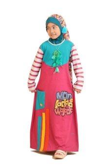 Lazada Baju Anak Syamsakids Baju Muslim Anak Sl074 Gms