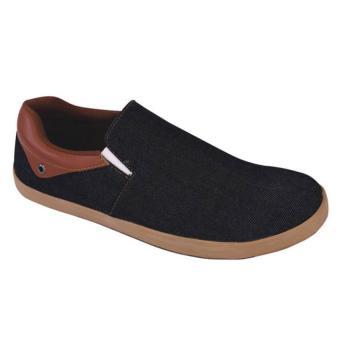 Syaqinah Sepatu Slip On Laki-Laki - Biru