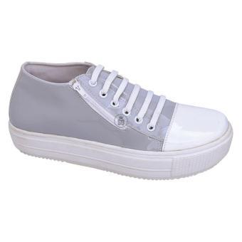 Syaqinah Sneakers Wanita - Abu