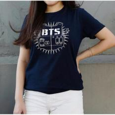T shirt Tumbler Tee BTS Navy