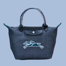 Tas Branded Longchamp Le Pliage On The Road Small Size - GREY GREEN
