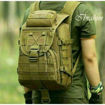 Tas Ransel Tentara Army Camouflage Travel Hiking