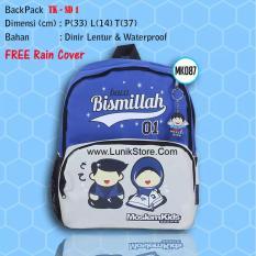 Tas Sekolah Anak Muslim Free Rain Cover