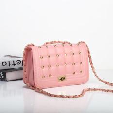 Tas Wanita Import 43375 Pink Cute Studded