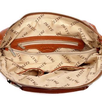 Tas Wanita Kulit Asli Pasta Yang Terkenal Berkualitas Tinggi Merek Fashion Tas Vintage Selempang Bahu Tas