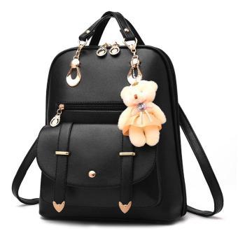 SP R BR Tas Ransel Wanita Branded Kulit Import Fashion Murah Kerja Sekolah High Quality