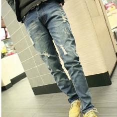 TB Men's Haren Casual Jeans Blue - Intl