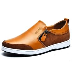 """The New Men""""s Casual Leather Men""""s Shoes Cool And Comfortable (Brown) ' - Intl"""