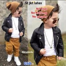 Toko Grosir Dress-Set Jaket Latex Anak Cowo