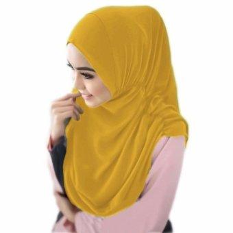 Harga Toko Lagita Hijab Ciput Arab Mustard Kuning Pricenia Com