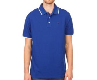 Tommy Hilfiger Men Golf Polo - Royal Blue