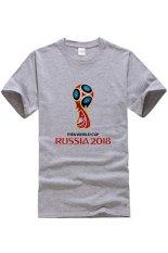 Top Quality Sport Russia 2018 Summer Soccer Printing Men T-shirt