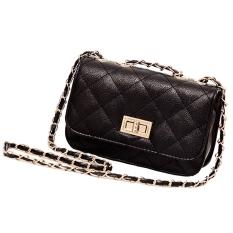 Toprank Fashion Women's Leather Cute Mini Cross Body Chain Shoulder Bag Handbag Purse - Intl