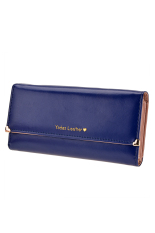 Toprank Lady Woman Retro Purse Clutch Wallet Long Card Holder Bag Convenient Simple Women Candy Wallet