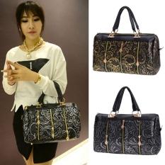 Toprank New Fashion Elegant Women Lace Style Synthetic Leather Handbag Shoulder Bag Bag - Intl