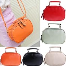 Toprank New Women Lady Girl Gorgeous Fashion Shoulder Bag Cross-body Packets Bag (Orange) - Intl