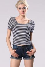 Toprank T Shirt Women Cotton Short Sleeve Casual Women Clothing All Match Women Tops Femininas