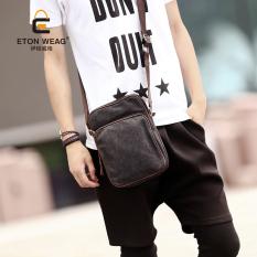 TP Brand Design Men's Handbag Men Canvas Bag Single Shoulder Bagleisure Crossbody Bag Outdoors Fashion Small Bag Men Backpack -Blue - Intl