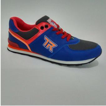 Trekkers JB Bellagio 2 Sepatu Olahraga Laki laki Warna Biru Merah . dbd4782957