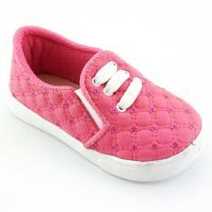 Pink Source TrendiShoes Sepatu Anak Perempuan Slip On Denim Import CESNW Source TrendiShoes .