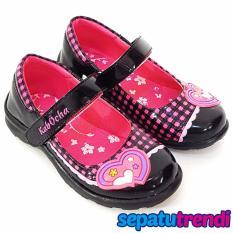 TrendiShoes Sepatu Anak Perempuan Cantik LNHK Hitam Perbandingan Source · TrendiShoes Sepatu Sekolah Anak Perempuan Mary