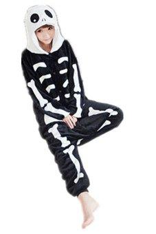 Twinklenorth AAC-31 Halloween Skull Cosplay Adult Animal Costume Jumpsuit