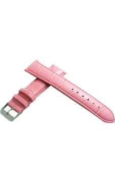 Twinklenorth Calfskin Calf Women Pink 12mm Leather Band Strap WW-021