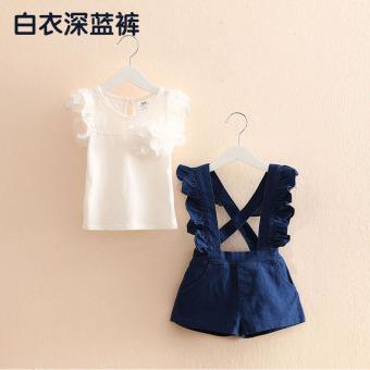 Sayang Qz 3132 Korea Fashion Style Baru Anak Anak Kartun Rok Rok Source · Tz 2963 bayi telinga kayu baru celana anak perempuan celana Putih biru tua celana