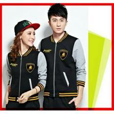 UC Jaket Pasangan Lambo / Jacket Couple Club / Jaket Sepasang / Jacket Girl & Jaket Pria LC - Hitam