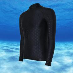 Unisex Men Women Neoprene Waterproof Fast Drying Professional Sport Swimming Diving Surfing Wetsuits (Black Line) (Int:L) - Intl